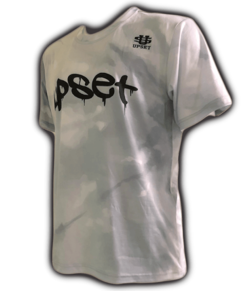 UPSET Tie Dye T-shirt (WHITE)