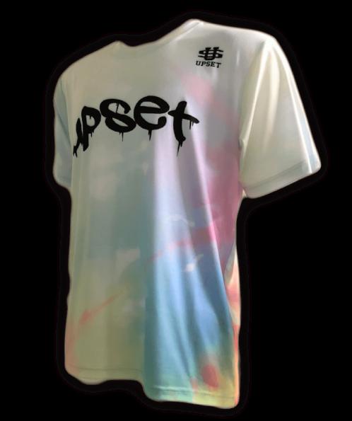 UPSET Tie Dye T-shirt (RAINBOW)