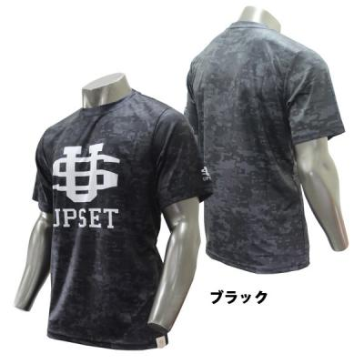 UPSET BIGロゴTシャツ(BLACK)