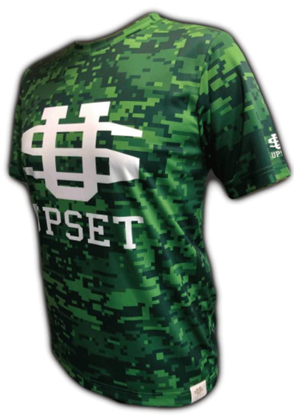 UPSET BIGロゴTシャツ(GREEN)