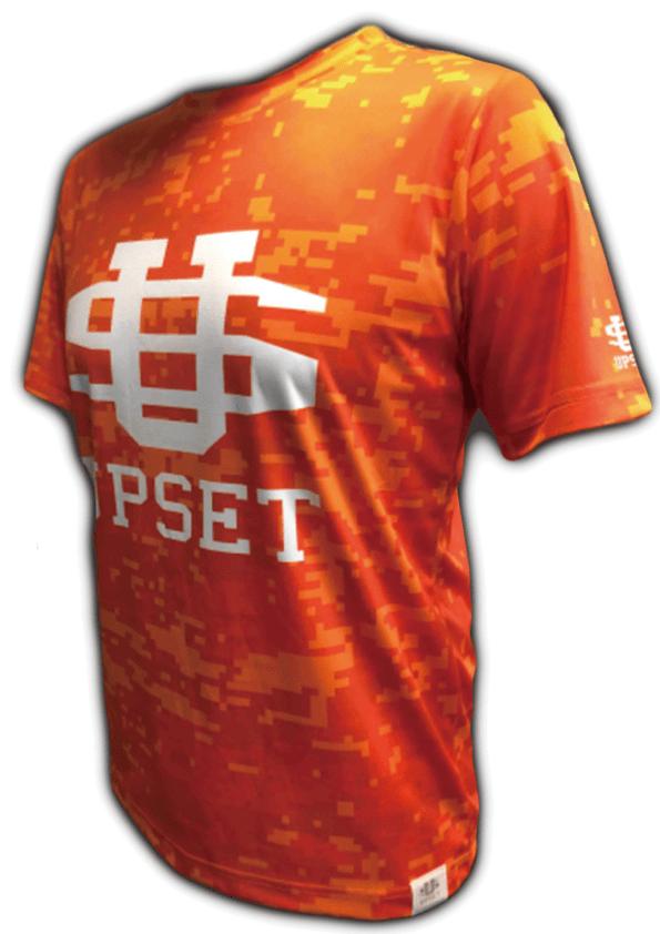UPSET BIGロゴTシャツ(ORANGE)